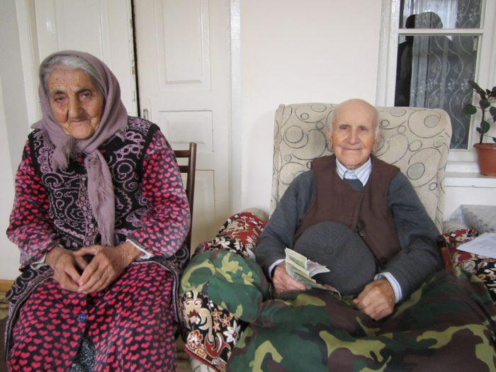 Schakar Melikjan und seine Frau