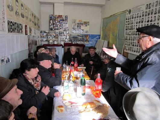 Armenische Partnerorganisation im Jerewaner Vereinsbüro