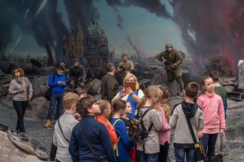 Zentralmuseum des Großen Vaterländischen Krieges, Moskau, März 2018