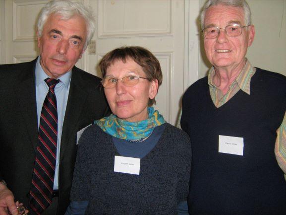 Dr. Boris Zabarko, Margret Müller, Werner Müller